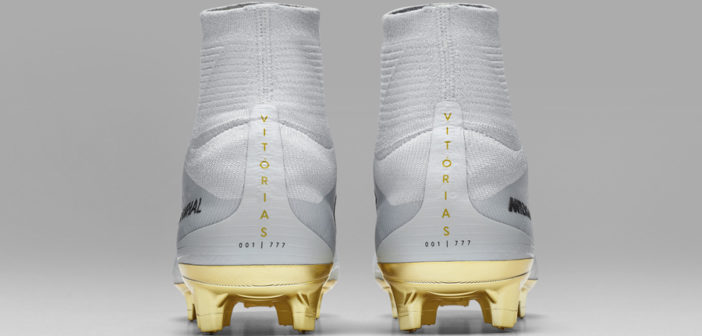 cr7 cleats white and gold